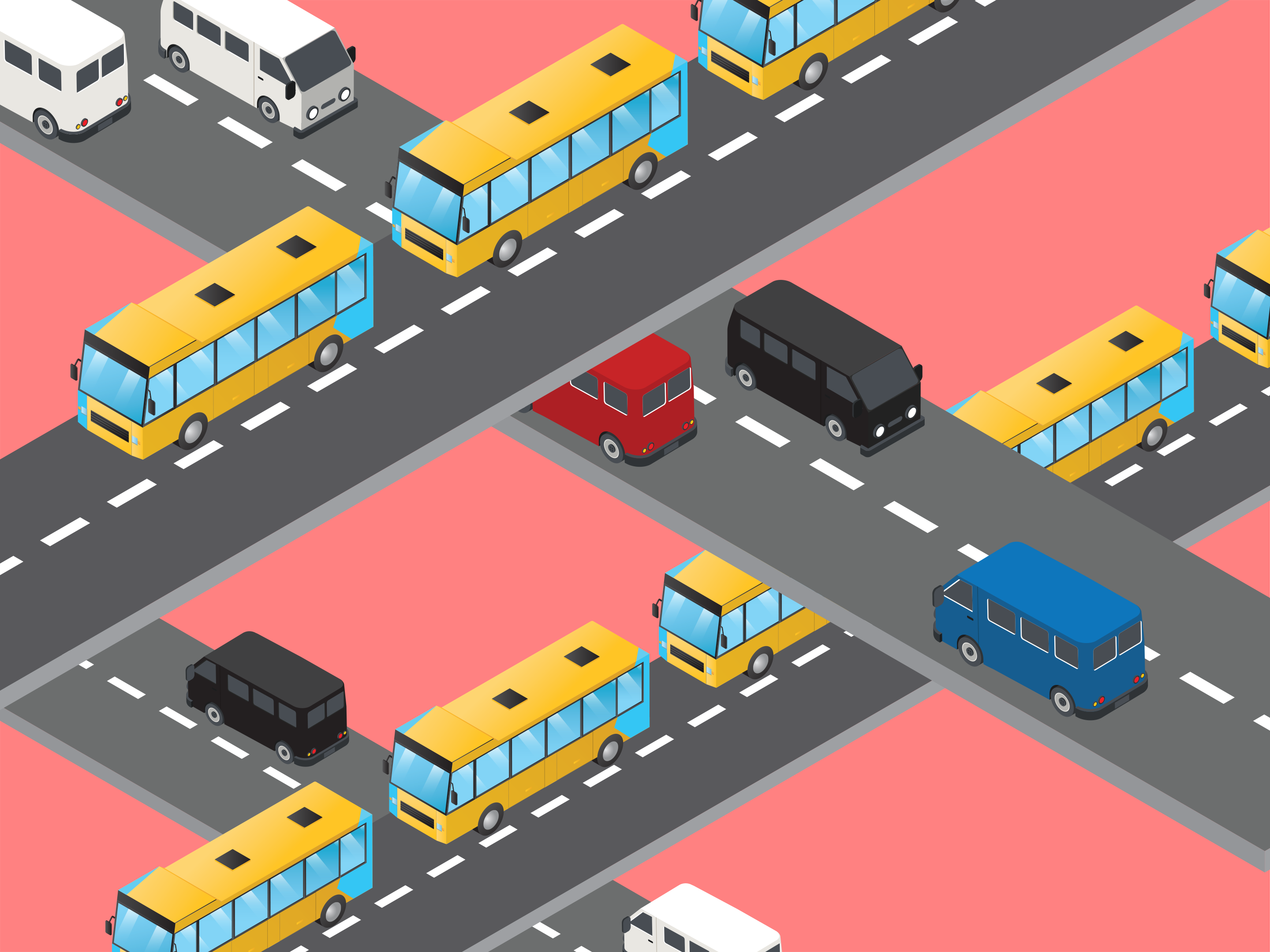 road-with-buses
